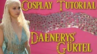 Belllaju-Mittwoch! Und endlich wieder ein neues Cosplay Tutorial. Diesmal zeige ich euch wie ihr den Gürtel von Daenerys aus der zurzeit sehr beliebten Serie ...