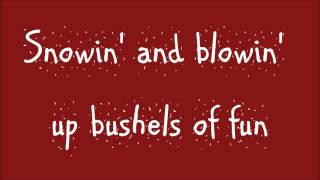 Glee - Jingle Bell Rock (Lyrics) HD