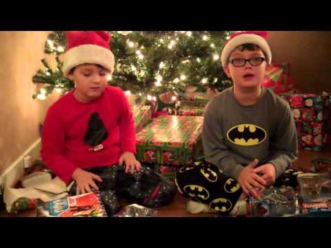 Christmas Morning 2012 Video Keaton Blaze Marvel Universe Ninja Turtles Blazes First Hot Toys Figure