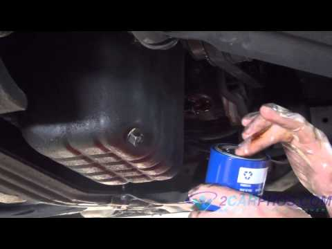 Oil Change and Filter Replacement 1998-02 Nissan Quest