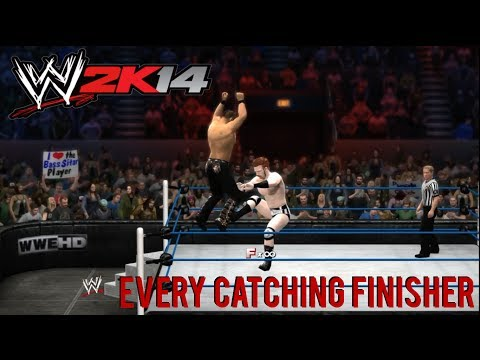 finisher - If you enjoyed this video a thumbs up and a comment would be greatly appreciated. In this video I show you every single catching finisher in WWE 2K14 as well...