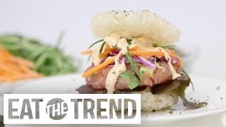 How to Make a Sushi Burger | Eat the Trend by POPSUGAR Food