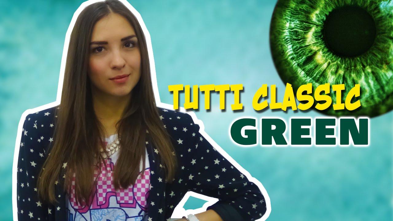 Цветные линзы TuttiClassic Цвет: Green/Выпуск №18