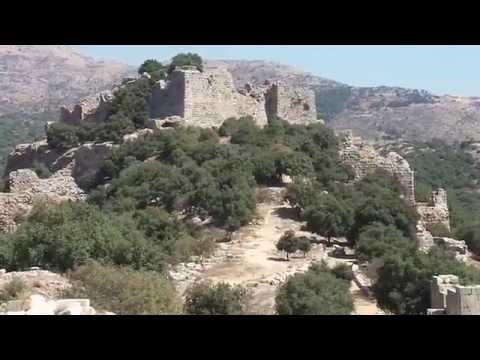 Nimrod's Fortress with Syrian war heard