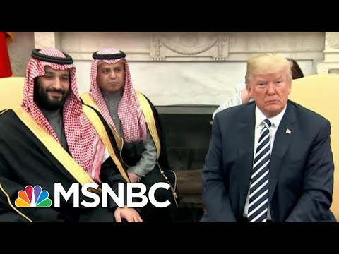Representative Eric Swalwell On President Donald Trump And Saudi Arabia | The Last Word | MSNBC