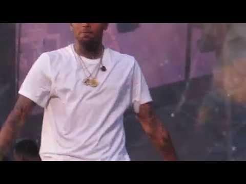 Chris Brown brings out G-Unit HOT97 SUMMERJAM 2015 HD