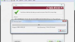 Best Data Recovery Software for Windows - Running a scan
