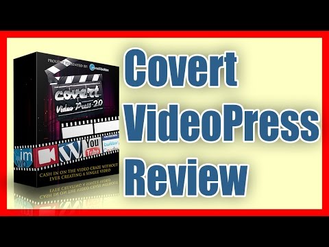 This Blog is Running on the Covert Video Press Theme