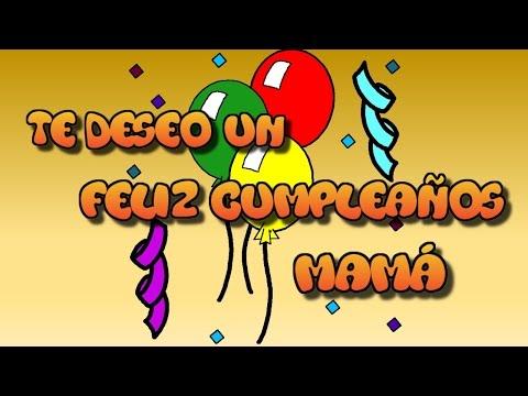 Tarjetas de cumpleaños - Tarjeta virtual animada de feliz cumpleaños mamá