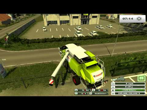 Farming Simulator 2013 on Holzhausen Agriculture Forestry map pt1
