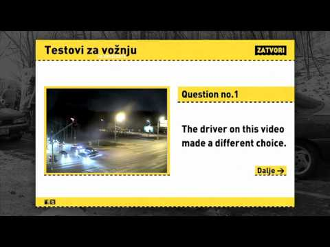 Testovi za vožnju / New Driving Tests