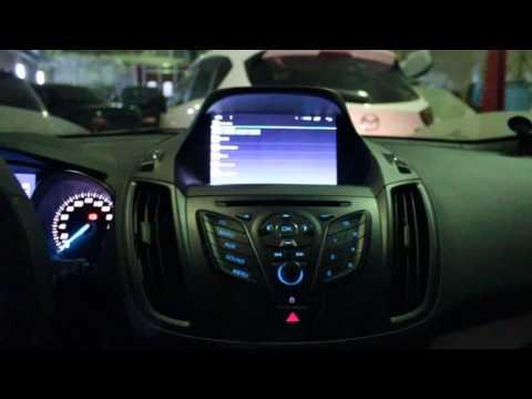 Магнитола на форд куга 2015 снимок