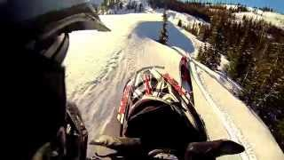 2. Snowmobiling 2015 Pro RMK 800 Terrain Dominator
