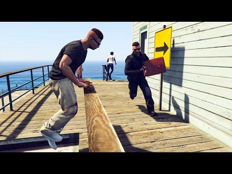 ULTRA-TRIATHLON ! GTA 5 ONLINE (видео)