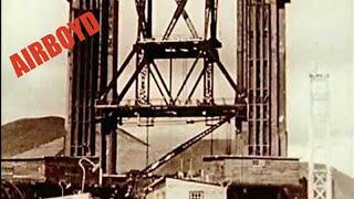 Video Building The Golden Gate Bridge (1930's) MP3, 3GP, MP4, WEBM, AVI, FLV Oktober 2018