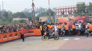 Asansol India  city pictures gallery : KTM Bike Stunt Show at Asansol | West Bengal | India