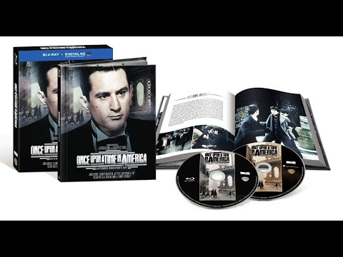Once Upon A Time In America - Extended Director's Cut - Blu-ray Unboxing