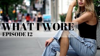 WHAT I WORE | EPISODE 12 | Snap Jeans + Wide Flares + Gingham