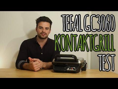 Kontaktgrill Test 2016 - TESTSIEGER Tefal GC3060: Unboxing & Grillen