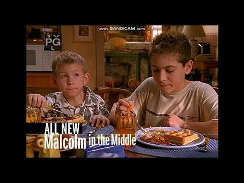 Malcolm In The Middle On Fox (Season 1 TV Ads; circa 2000)