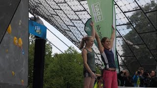 European Bouldering Championship Munich 2017 - Superfinal by International Federation of Sport Climbing