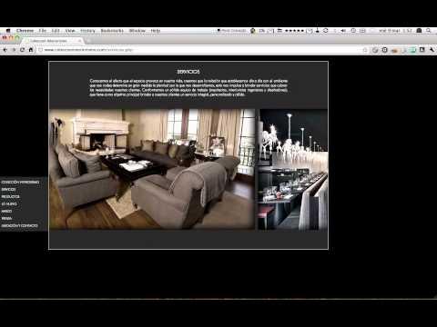 Página Web de Colección Interiorismo
