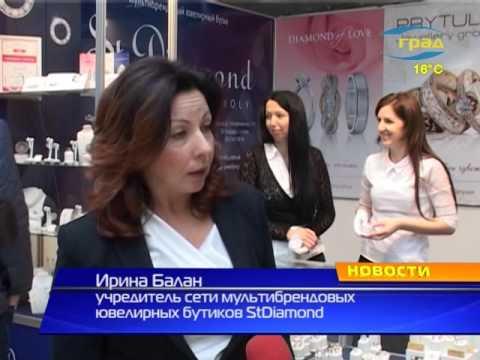 """Репортаж выставки и шоу-программы """"Свадьба"""" телеканал Град"""