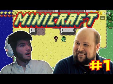 MINICRAFT EPISODE 1 - NOTCH CE GENIE !! - GAMEPLAY WALKTHROUGH FRANCAIS