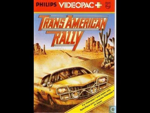Nr. 60+ Trans American Rally | Philips Spielekonsolen | G7000 / G7400 / Videopac / Videopac+