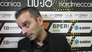 Liu Jo Modena-Legnano 3-2, le parole di coach Gaspari