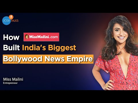 PASSION TO PROFESSION: I Made A Mark For Myself In Bollywood   Miss Malini   Josh Talks