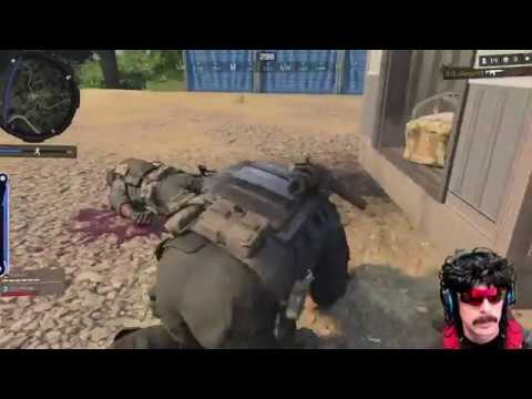 "DrDisRespect Gets Attacked By A Suicide Bomber In ""Blackout"" *NEW*"