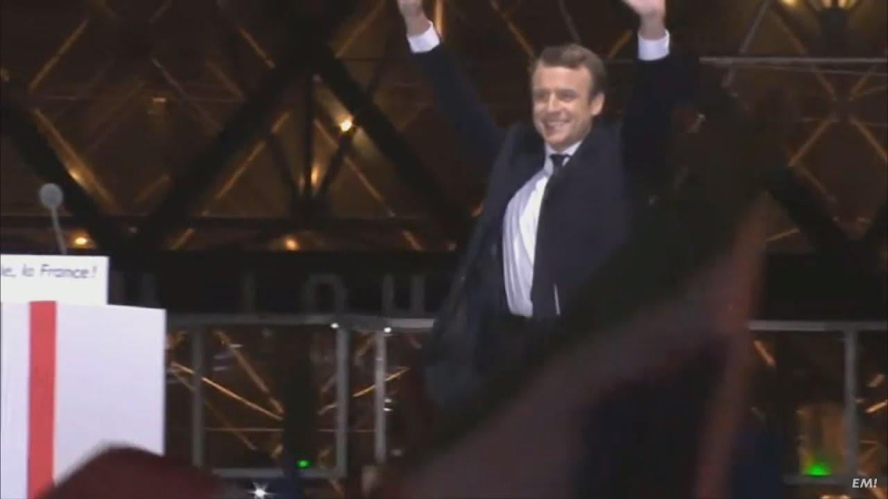 Ο Εμανουέλ Μακρόν νέος Πρόεδρος της Γαλλίας