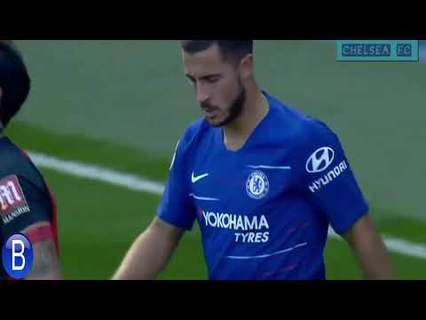 Eden Hazard vs Bournemouth (Home) 1/9/2018 HD 1080