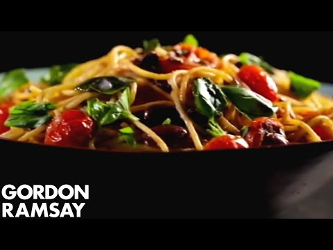 Pasta with Tomato, Anchovy & Chilli | Gordon Ramsay