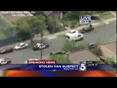 Gần trăm cảnh sát đuổi bắt tội phạm bằng oto và trực thăng mà mãi mới bắt được 0.o