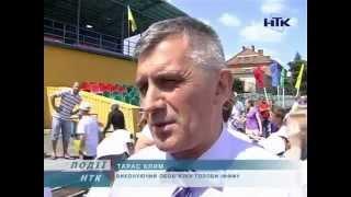 Відкритий урок футболу у Коломиї 11.06.2014