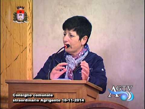 Consiglio comunale straordinario Agrigento 2a parte 10-11-2014