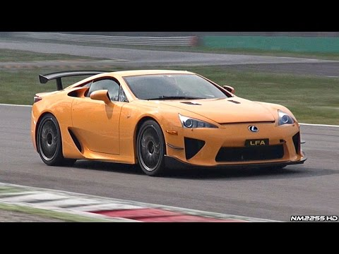 Lexus LFA Nürburgring Edition SOUND on Track + OnBoard Footage!