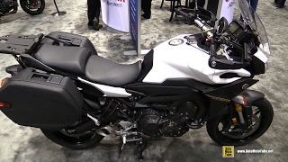 10. 2017 Yamaha FJ09 Intense White Yamaha Accessorized - Walkaround - 2016 AIMExpo Orlando