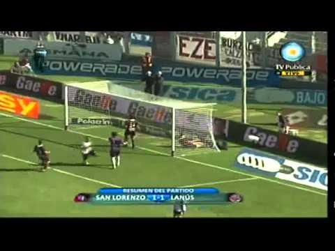 Actuación de Marchesin en el partido ante San Lorenzo (Clausura 2011)