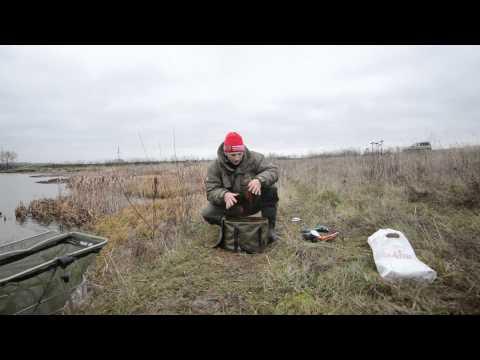 Осенняя ловля леща в стоячем водоеме.Фидер в Калужской области.