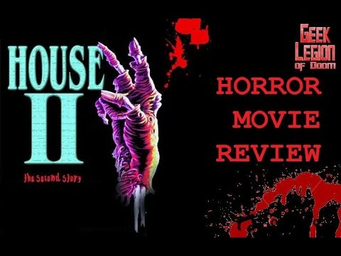 HOUSE II: THE SECOND STORY ( 1987 Arye Gross )  Horror Movie Review Arrow films collection