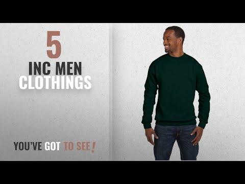 Top 10 Inc Men Clothings [ Winter 2018 ]: Hanes 7.8 oz. ComfortBlend� EcoSmart� 50/50 Fleece