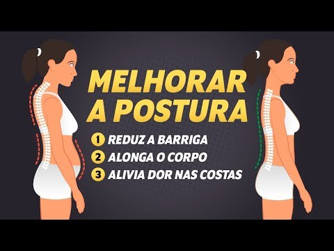 Dica saudável: Melhore sua postura em segundos!