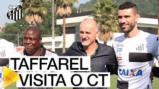 O preparador de goleiros da Seleção e tetracampeão mundial Taffarel esteve no CT Rei Pelé para observar Vanderlei! O nosso goleiro vive grande fase e está no radar de Tite! Se liga só!Inscreva-se na Santos TV e fique por dentro de todas as novidades do Santos e de seus ídolos! http://bit.ly/146NHFUConheça o site oficial do Santos FC: www.santosfc.com.brCurta nossa página no facebook: http://on.fb.me/hmRWEqSiga-nos no Instagram: http://bit.ly/1Gm9RCSSiga-nos no twitter: http://bit.ly/YC1k82Siga-nos no Google+: http://bit.ly/WxnwF8Veja nossas fotos no flickr: http://bit.ly/cnD21USobre a Santos TV: A Santos TV é o canal oficial do Santos Futebol Clube. Esteja com os seus ídolos em todos os momentos. Aqui você pode assistir aos bastidores das partidas, aos gols, transmissões ao vivo, dribles, aprender sobre o funcionamento do clube, assistir a vídeos exclusivos, relembrar momentos históricos da história com Pelé, Pepe, e grandes nomes que só o Santos poderia ter.Inscreva-se agora e não perca mais nenhum vídeo! www.youtube.com/santostvoficial-------------------------------------------------------------** Subscribe now and stay connected to Santos FC and your idols everyday!http://bit.ly/146NHFUVisit Santos FC official website: www.santosfc.com.brLike us on facebook: http://on.fb.me/hmRWEqFollow us on Instagram: http://bit.ly/1Gm9RCSFollow us on twitter: http://bit.ly/YC1k82Follow us on Google+: http://bit.ly/WxnwF8See our photos on flickr: http://bit.ly/cnD21UAbout Santos TV: Santos TV is the official Santos FC channel. Here you can be with your idols all the time. Watch behind the scenes, goals, live broadcasts, hability skills, learn how the club works, exclusive videos, remember historical moments with Pelé, Pepe and all of the awesome players that just Santos FC could have. Subscribe now and never miss a video again! www.youtube.com/santostvoficial