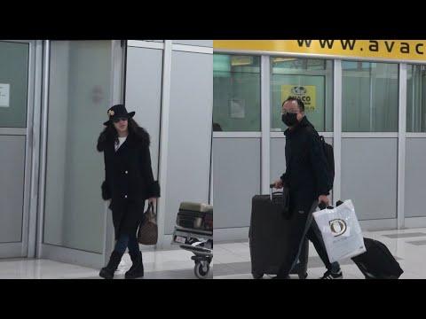 Aleksandra stigla sa aerodroma
