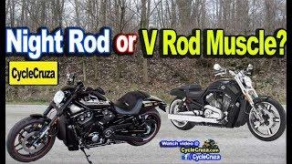 8. Get a Harley Davidson Night Rod or V Rod Muscle?