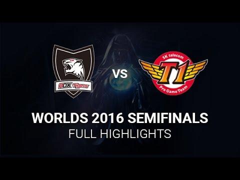 [CKTG 2016] Tổng hợp highlights bo5 giữa SKT và ROXT tại Chung Kết Thế Giới 2016 22/10