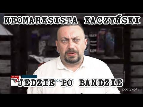 Kaczyński zwariował, czyli nowy lider PiS wycięty z papieru, prorokiem neomarksistowsiej prawicy.